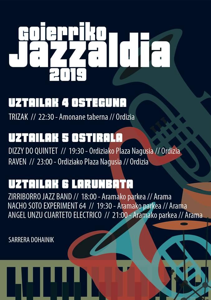 Jazzaldiko txartela 2019